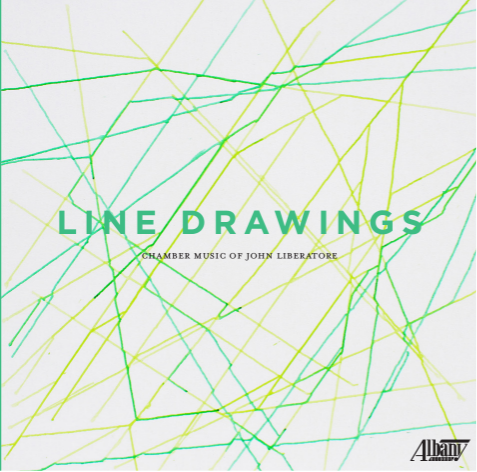 Line Drawings cover image by Zelene Schlosberg